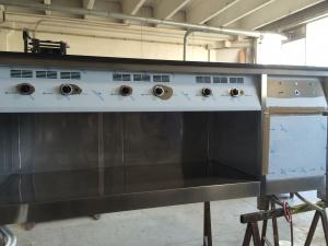 Cucine industriali in acciaio su misura verona inox or for Cucine industriali