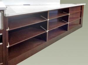 Banchi e ripiani in acciaio inox per bar piani for Banchi bar e arredamenti completi