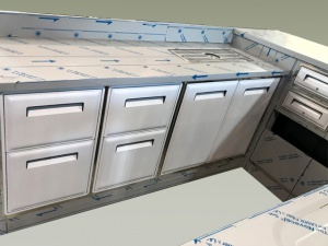 BAR'S COUNTERTOPS AND COOLING COUNTERS
