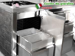 Lavorazioni in acciaio su misura inox or verona - Cucine da giardino ...
