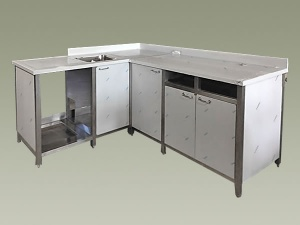 Cucine da giardino e da esterno in acciaio inox su misura - Inox OR