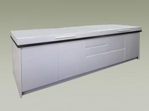 Free laccata bianca con coperchio per le intemperie with piano cottura da esterno - Piano cottura da esterno ...