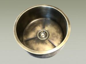lavello cucina ottone brunito