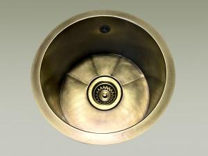 lavelli cucina ottone tondi