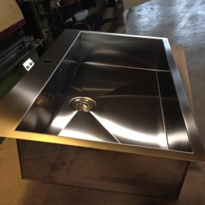 Lavelli da cucina in acciaio inox su misura verona for Lavelli cucina inox
