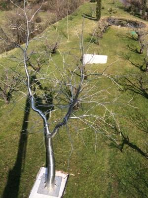 Abero da giardino realizzato in Inox