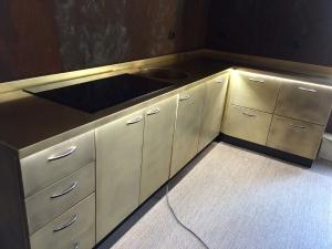 Lavorazioni rame e ottone inox or - Top cucina acciaio inox prezzo ...