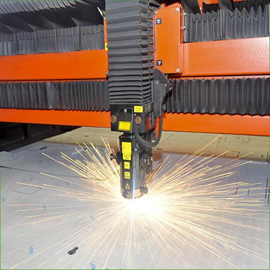 Taglio laser acciaio